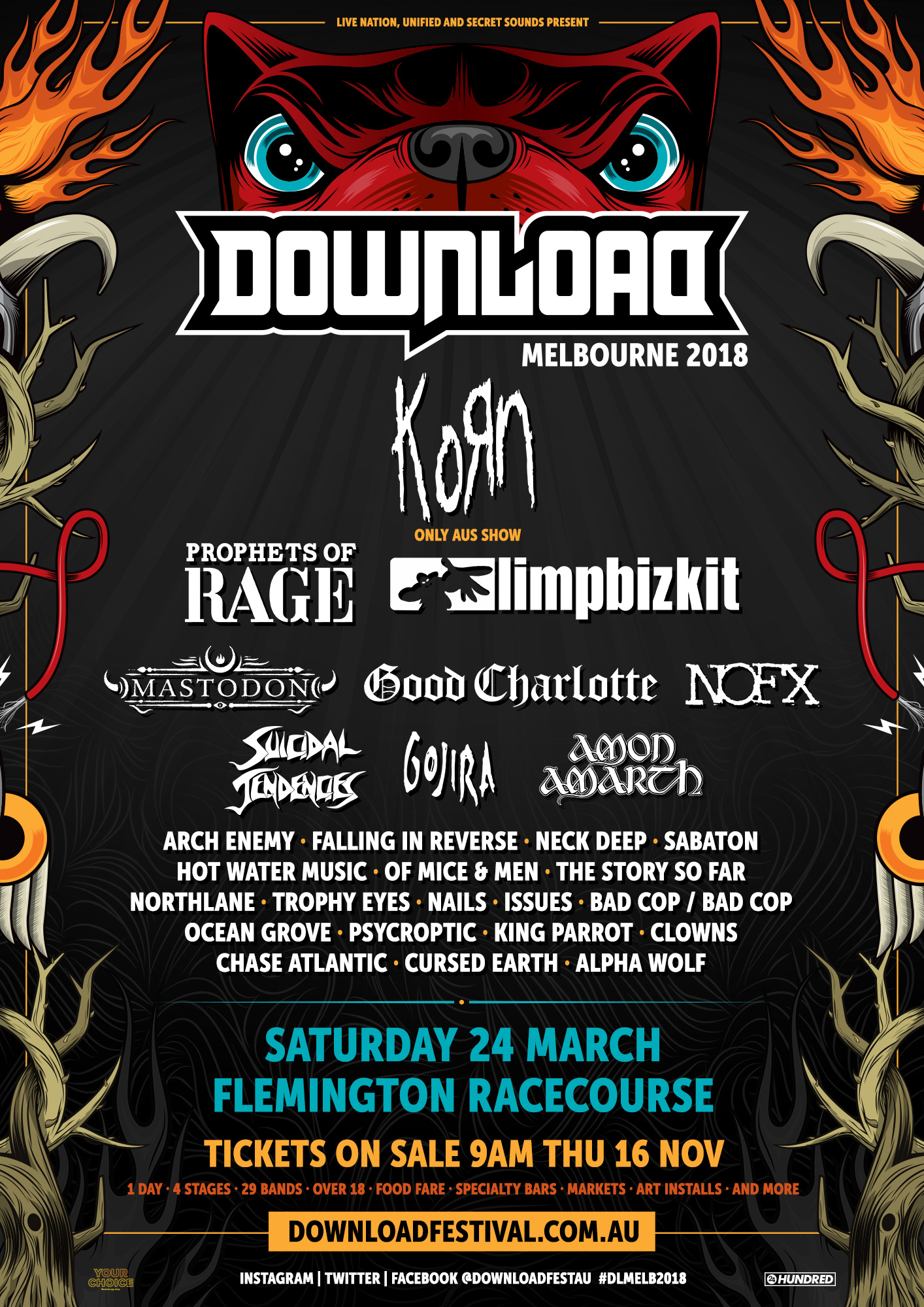 Download Festival Melbourne 2018